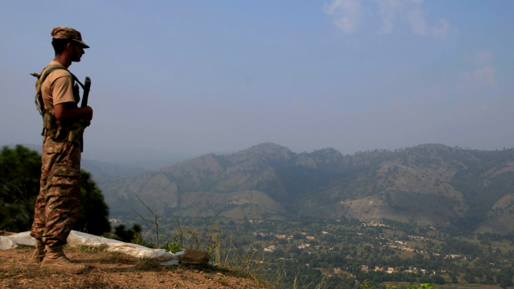 Pakistan shoots down Indian drone 'trespassing' into Kashmir