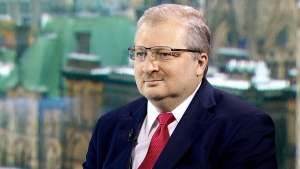 Russian Ambassador to Canada Alexander Darchiev speaks with Evan Solomon on CTV's Question Period.