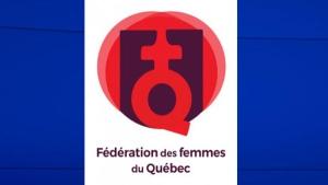 Quebec Federation of Women logo