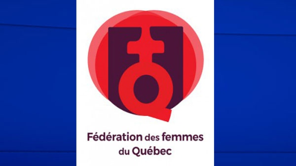 Quebec Federation of Women logo
