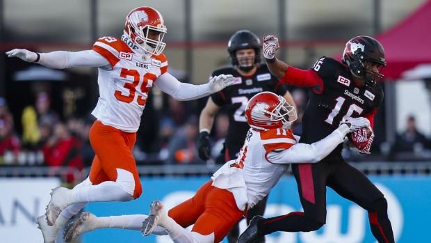 Lions humbled in loss to Stampeders