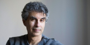 Computer Science professor Yoshua Bengio poses at his home in Montreal, Saturday, November 19, 2016. (THE CANADIAN PRESS/Graham Hughes)