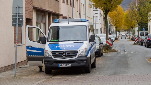 Woman dragged behind auto on cord in Germany badly injured