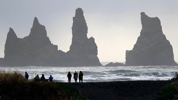 Near the Volcano Katla in Vik, Iceland