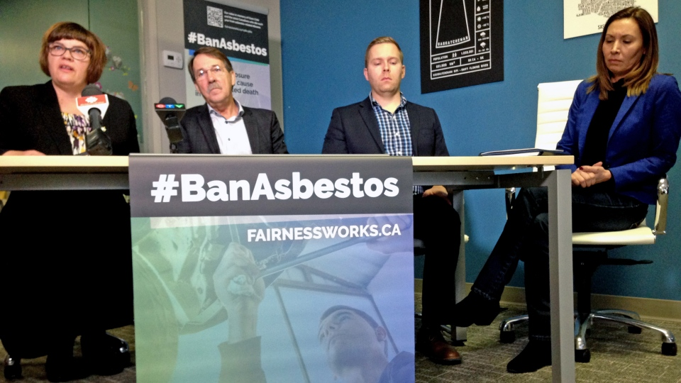 Benson and labour groups call for asbestos ban