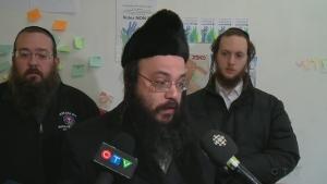 Abraham Ekstein is a Hasidic Jewish leader in Outremont (Nov. 21, 2016)