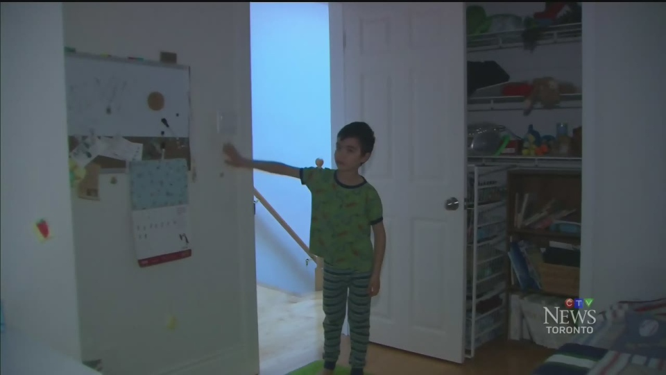 6-year-old Ben Wan used to have a lot of trouble getting to sleep. (CTV Toronto)