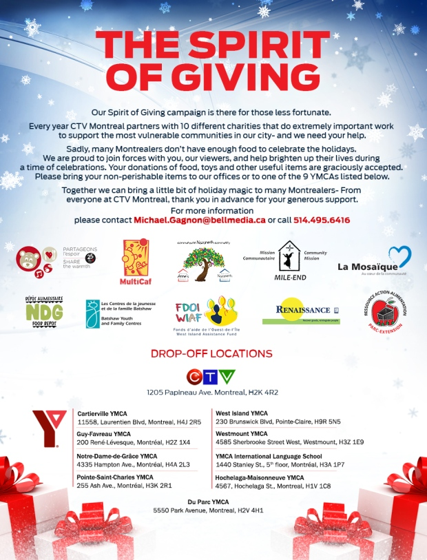 Spirit of giving 2016