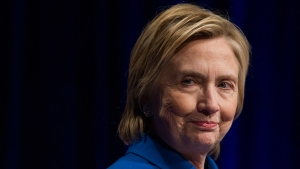 Hillary Clinton at the Newseum in Washington, on Nov. 16, 2016. (Cliff Owen / AP)