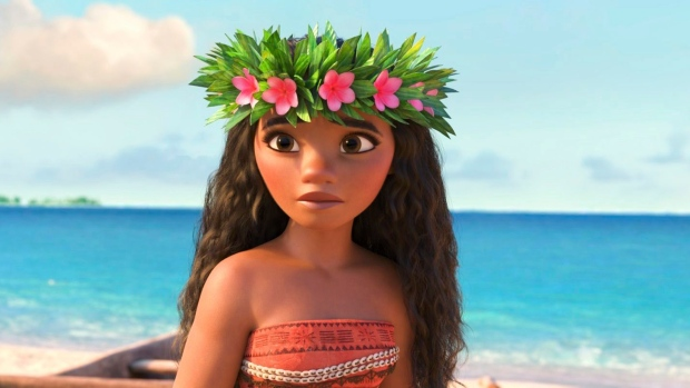 'Moana' tops the North American box office with $55.5M this weekend