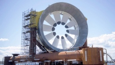 Bay of Funy turbine