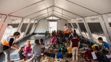 Mosul camp
