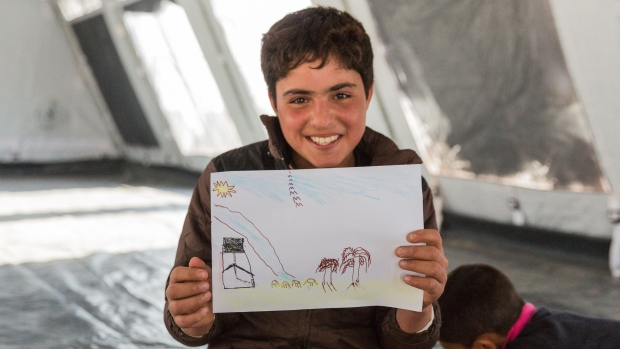 Mosul child