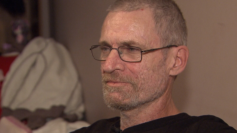 Don Hills, a self-described 'addict in recovery,' speaks to CTV News in Vancouver on Tuesday, Nov. 22, 2016.