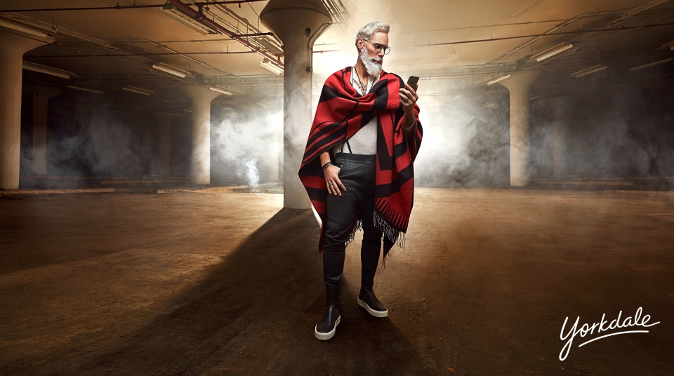 "According to the mall's website, this year's Fashion Santa will bring his own take on style and a ""new edge"" to the season. (Yorkdale Shopping Centre)"