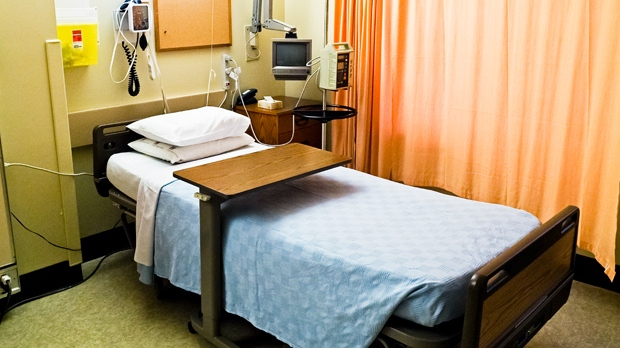 An empty hospital bed is seen in an undated file photo. (The Canadian Press Images/Bayne Stanley)