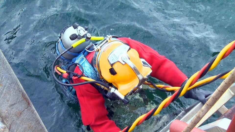 diver lost bomb b.c.