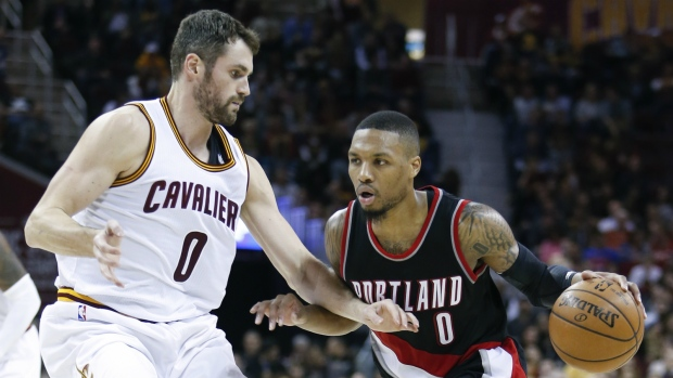 Love scores 34 in first quarter as Cavs take down Blazers