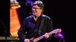 Robbie Robertson performs at Eric Clapton's Crossroads Guitar Festival 2013 at Madison Square Garden in New York on April 13, 2013. (Charles Sykes/THE CANADIAN PRESS/AP)