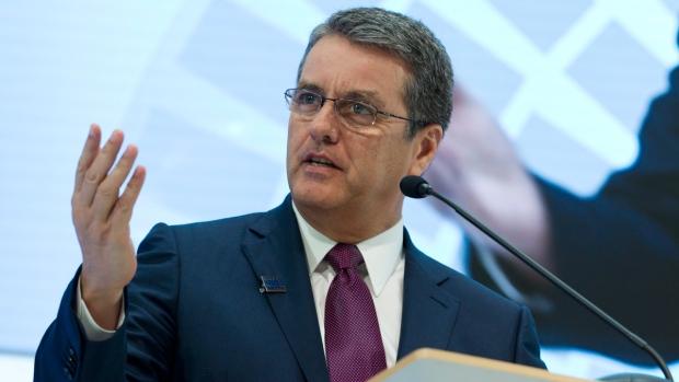 WTO head Roberto Azevedo