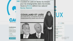 Quebec's Coalition Avenir Quebec tweeted in 2016 that it opposed the wearing of the chador in Quebec public life
