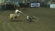 Rodeo competitor says sport in his blood