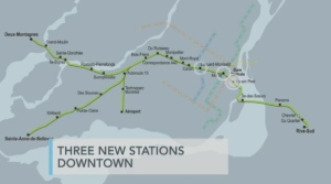 The Parti Quebecois released their public transport plan on Tuesday, which called for the cancellation of Montreal's upcoming light-rail project.