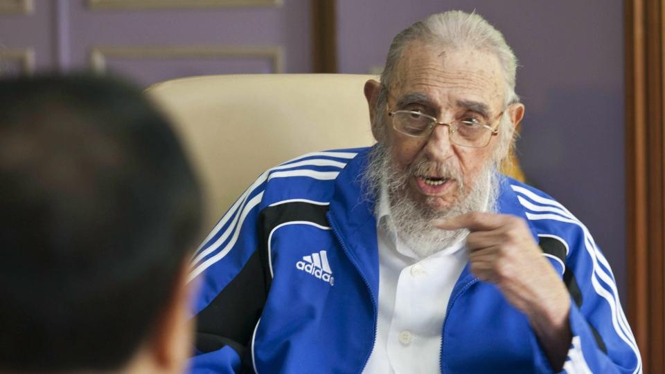 Cuba former leader Fidel Castro