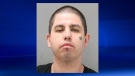 Shawn Baldhead, 28, is wanted in connection with Thursday's attack on a Medicine Hat taxi driver (photo: MHPS)