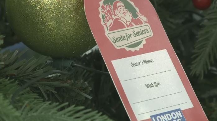 London Drugs is collecting gifts through Santa for Seniors heading into the holiday season.