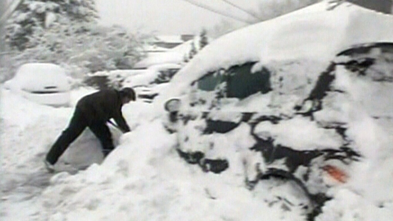 CTV News Archive: Canada hit with winter wallop