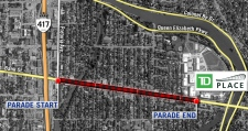 Grey Cup parade route