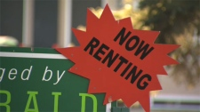 A rental sign is shown in this file photo.