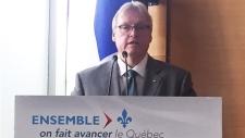 Health Minister, Gaetan Barrette