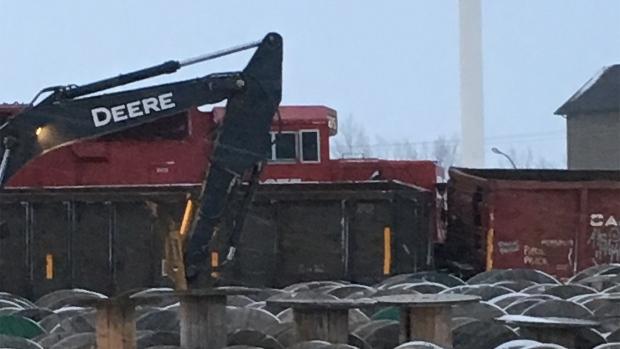 Estevan train accident
