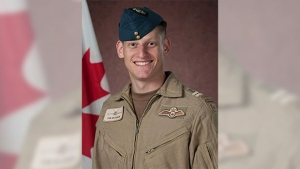 Royal Canadian Air Force pilot Capt. Thomas McQueen died in a CF-18 crash in Cold lake, Alta.