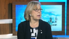 Elizabeth May jail Trans Mountain