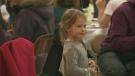 girl, spirit of giving, charity, food depot