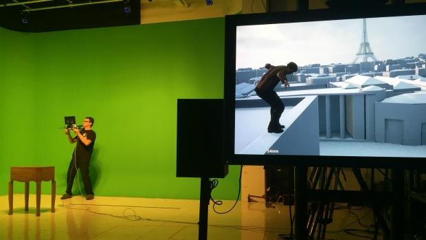 virtual reality at CBS digital