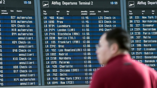 Lufthansa strike cancels flights