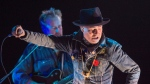 """Gord Downie performs his solo project """"Secret Path"""" at the Rebecca Cohn Auditorium in Halifax on Tuesday, Nov. 29, 2016. (THE CANADIAN PRESS/Andrew Vaughan)"""