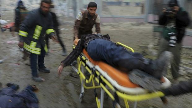 Civilians killed by artillery in Aleppo, Syria