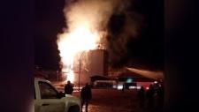 Turtleford fire