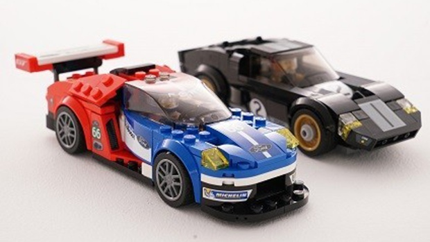 Ford GT and GT40 Lego Speed Champions