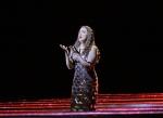In this undated image released by the Metropolitan Opera, Susanna Phillips appears in Kaija Saariaho's 'L'Amour de Loin,' in New York. (Ken Howard/Metropolitan Opera via AP)