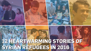 From welcome guides to wedding mishaps, a look back at heartwarming stories about Syrian refugees in Canada from the year gone by. (Tahiat Mahboob)