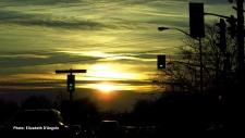 Sundown from Hogs Back on November 28, 2016. (Elizabeth D'Angelo/CTV Viewer)