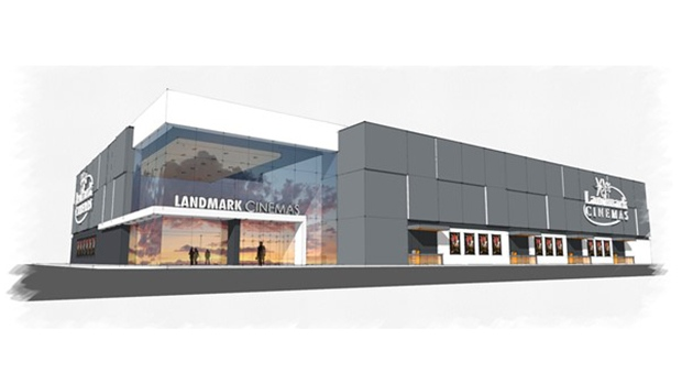 Landmark Theatre concept drawing. (SUPPLIED)