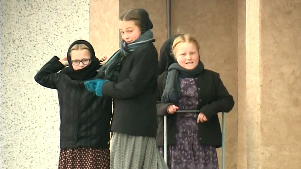 Hutterite children attend school up to Grade 8.