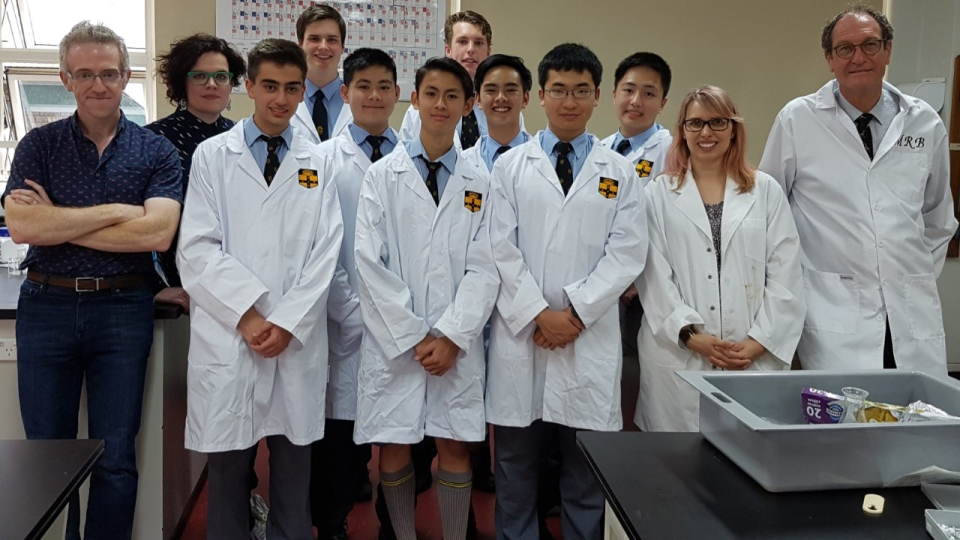The high school students worked on the project as part of an after-school program under the guidance of the University of Sydney. (Source: University of Sydney)